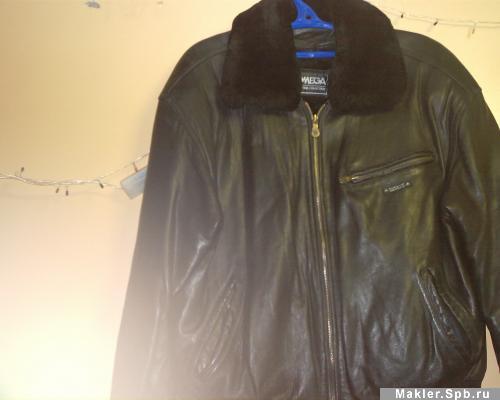 куртка пилот кожаная зимняя.